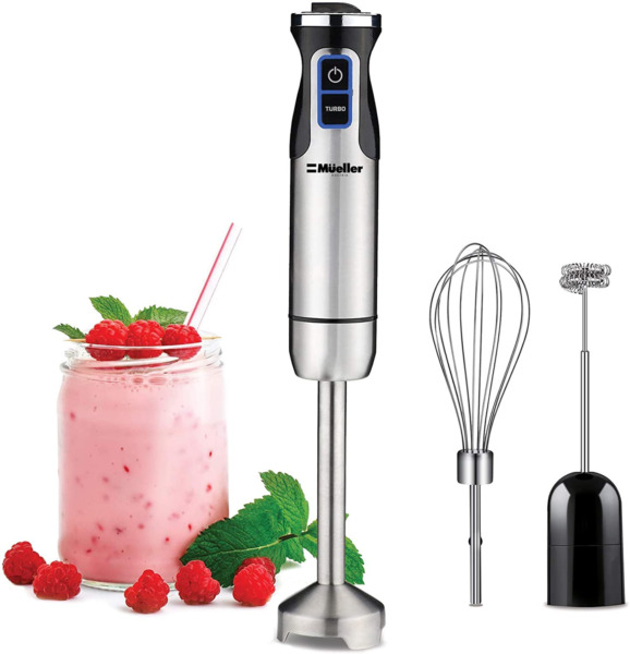 Ultra Stick 500 Watt 9 Speed Immersion Multi Purpose Hand Blender for Smoothies $50.00