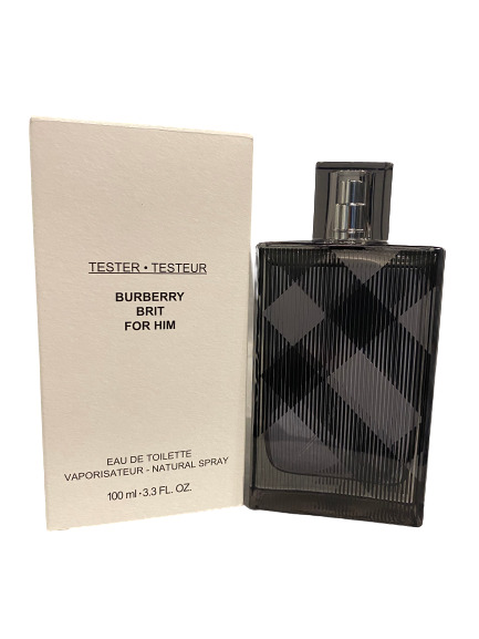 Authentic Burberry Brit Cologne by Burberry for Men EDT 3.3 oz New Tester In Box $23.96