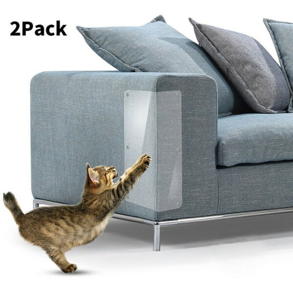 2PCS Furniture Protectors Cat Anti Scratch Scratching Post Couch Protector Guard $6.99