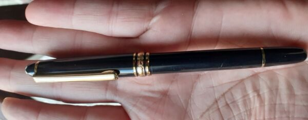 MONTBLANC ROLLERBALL PEN IT NEED INK MASTERS GOLD PLATED MONT BLANC