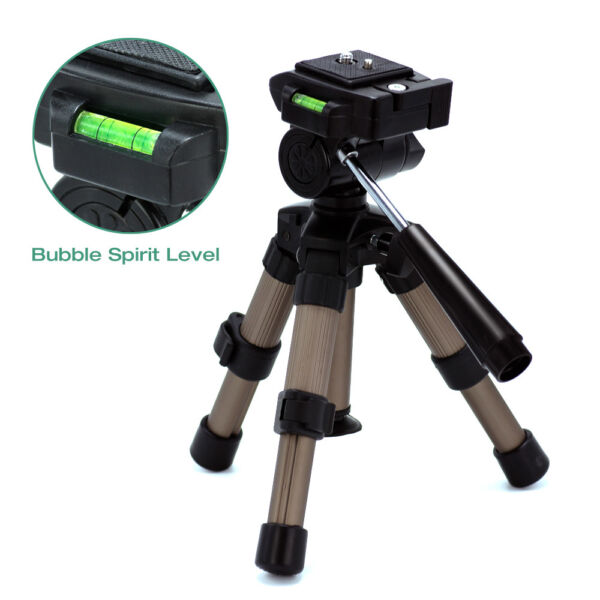 Adjustable Portable Tripod 7quot; 11quot; for Camcorder and Camera Universal w Case