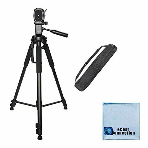 72 Inch Elite Series Full Size Camcorder amp; Camera Lightweight Tripod
