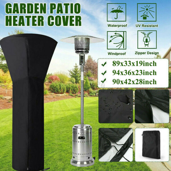 Waterproof Outdoor Patio For Gas Heater Cover Protector Moisture Dust Cover US