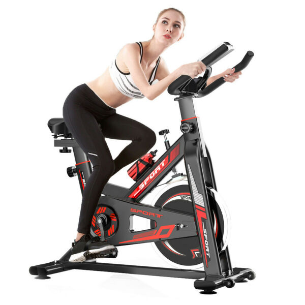 Indoor Cycling Bicycle Fitness Exercise Stationary Bike Cardio Home Workout Gym $175.94
