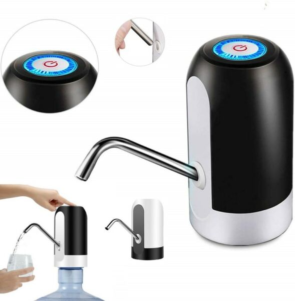USB Water Bottle Pump Dispenser Automatic for 5 Gallon Universal Electric Switch $10.59