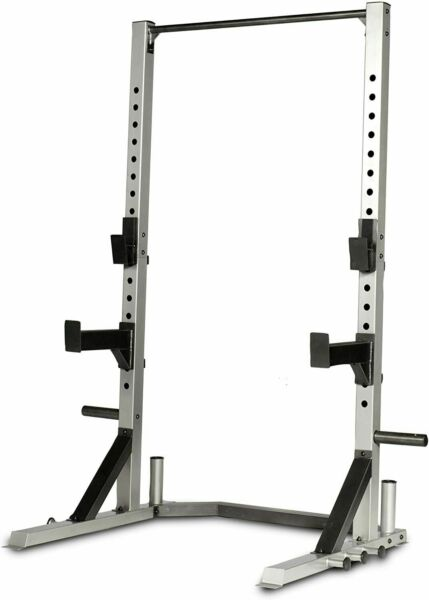 CAP Deluxe Power Squat Rack Multifunction Barbell Stand Weight Plate Rack $313.98