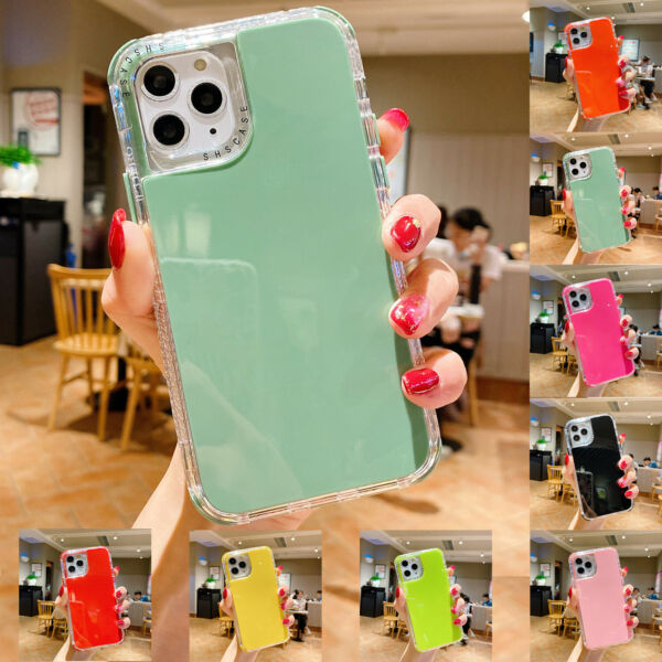 For iPhone 12 11 Pro Max SE 2020 XR Xs 8 3in1 Shockproof Case Cute Hybrid Cover $8.16
