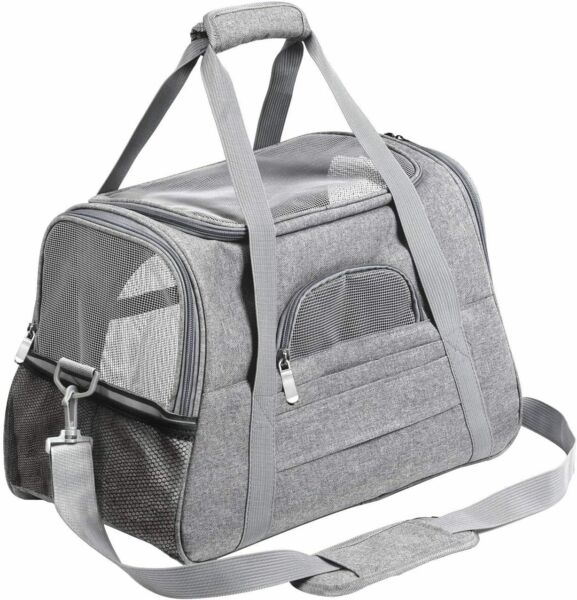Pet Carrier Airline Approved Pet Carrier Dog Carriers for Small DogsCat Carrier $33.90