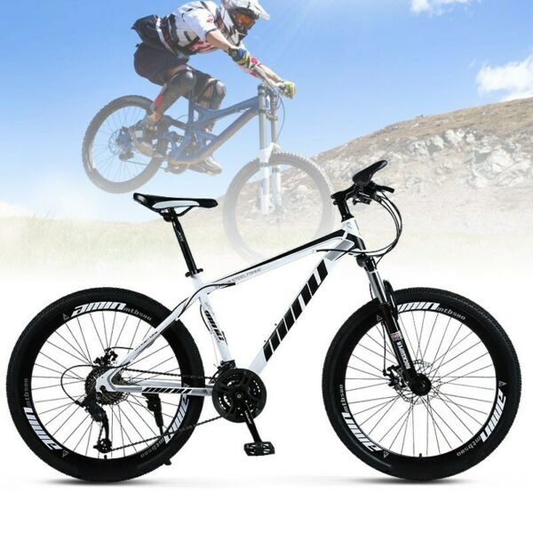MTB Mountain Bike 26quot; Wheels 21 Speed Carbon Frame Bicycle Disc Bicycles $199.00