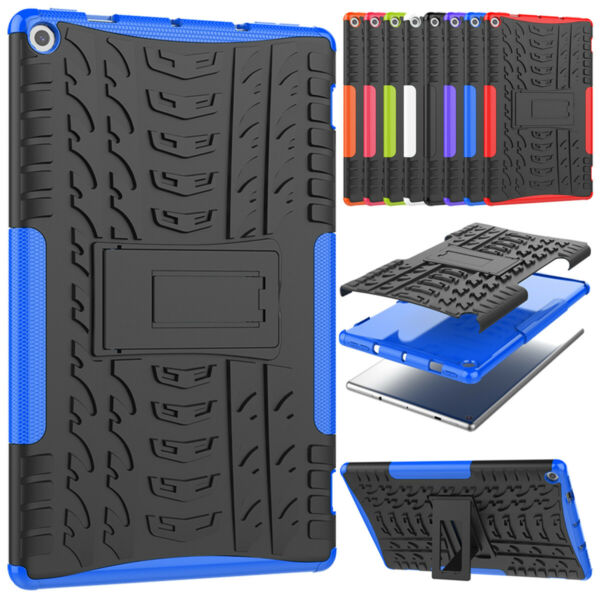 For Amazon Fire HD 10 2019 2017 10.1quot; Tablet Stand Rugged Shockproof Case Cover