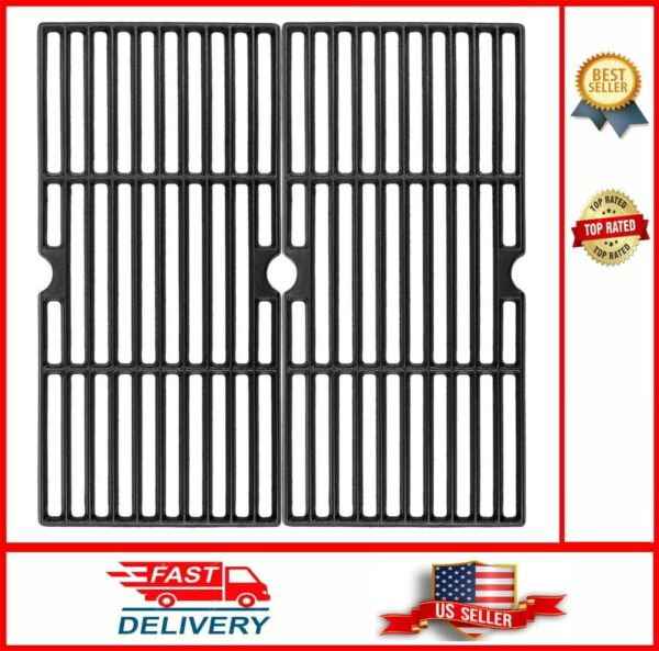 Grill Grates Replacement for Charbroil 16 15 16quot; Matte Coated Cast Iron Cooking