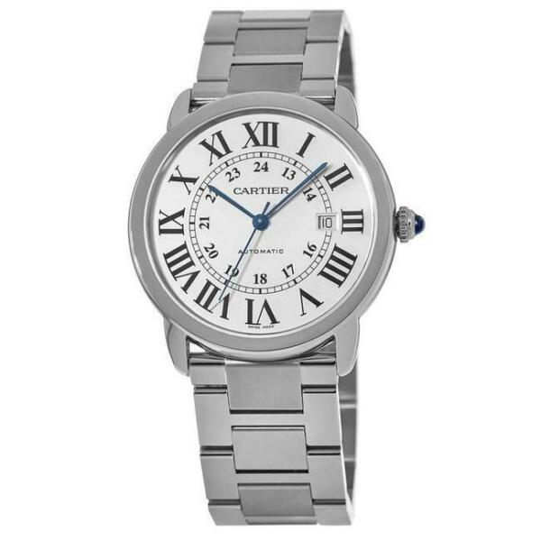 Cartier Ronde Solo Automatic Large Stainless Steel Men#x27;s Watch W6701011 SD $3563.00
