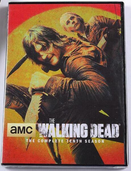 The Walking Dead Season 10 DVD 5 DISC)Brand New seal Free Shipping