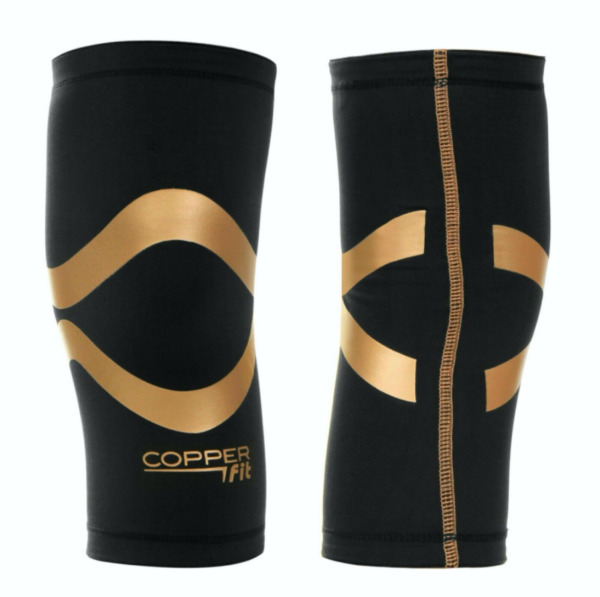 Copper Fit Pro Series Compression Knee Sleeve Men Women Performance L XXL 2 PC