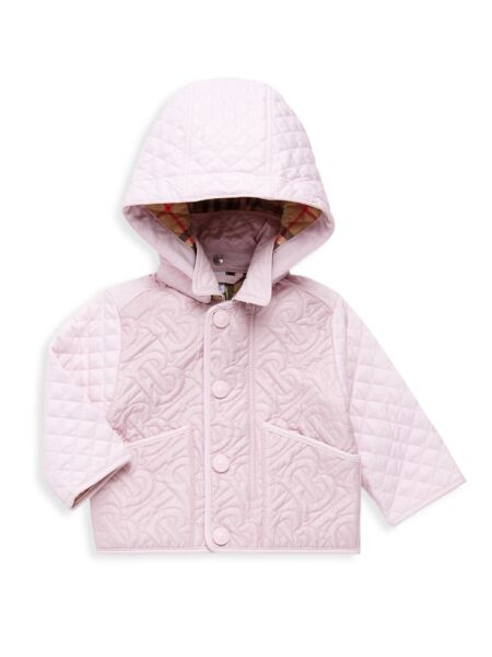 2021 Burberry Baby Girls Toddlers Jacket Coat Pink New Size 18M $280 $250.00