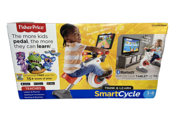 NEW Fisher Price Think amp; Learn Smart Cycle Bike Bluetooth Apple Android Teach $184.99