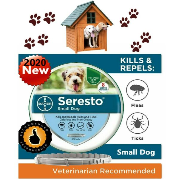 Bayer Seresto Flea and Tick Collar for Small Dog Up to 18lbs8 Months Protection $21.99