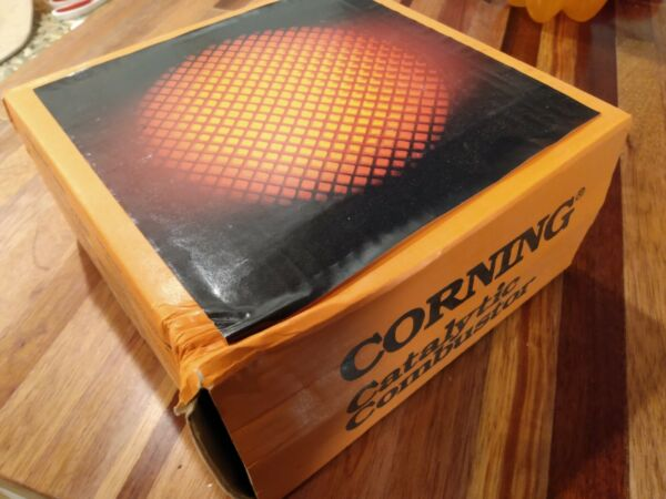 Replacement Catalytic Combustor CORNING less pollution for wood stoves burns hot $99.00