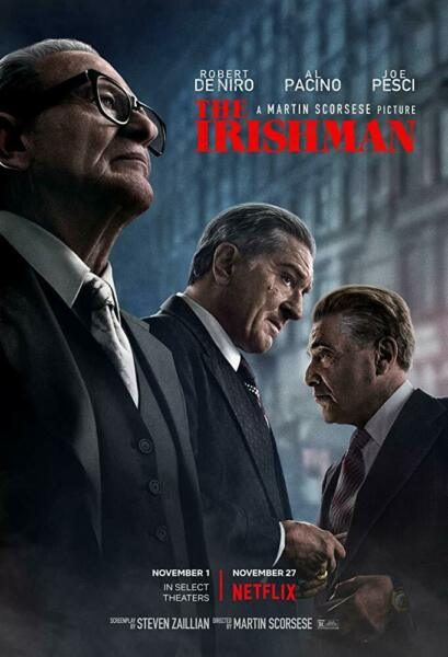 THE IRISHMAN DVD FREE SHIPPING