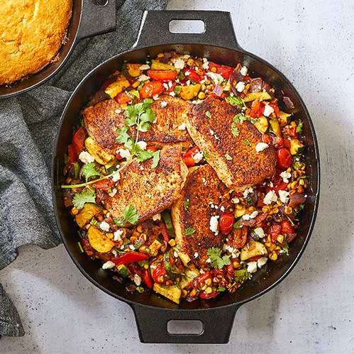Pampered Chef 12 CAST IRON SKILLET
