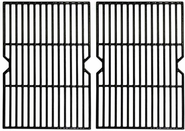 19 1 4quot; Porcelain Cast Iron Grill Grate Cooking Grid Replacement for..2 Pack NEW