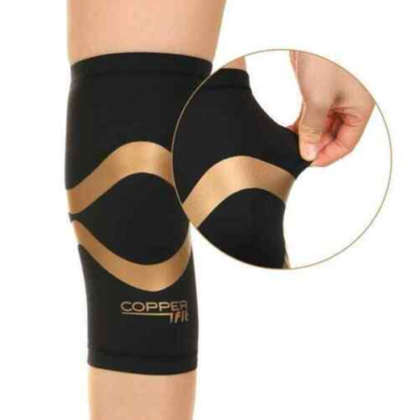 Copper Fit Pro Series Compression Knee Sleeve Men Women Performance L XXL 1 PC