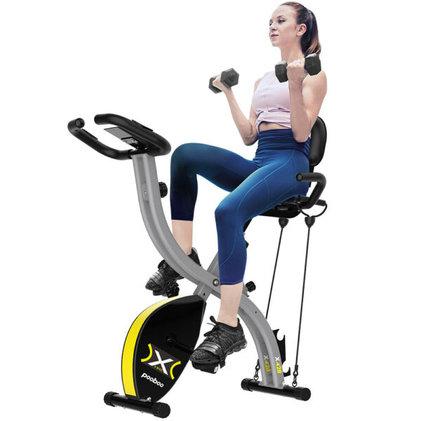 Commercial Magnetic Cycling Stationary Exercise Bike Indoor with Pad Phone Mount $339.88