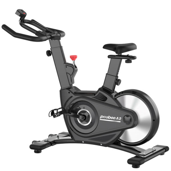 Pooboo Indoor Cycling Magnetic Resistance Stationary Cardio Cycle Exercise Bike $217.53