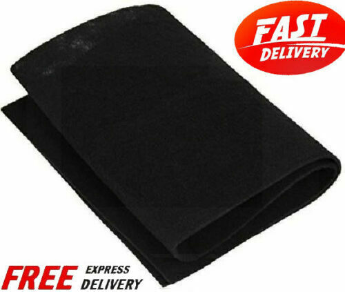 Carbon Pad Filter Cut To Fit Sheet Purifiers Charcoal Furnace Odor Remover Aid $29.14