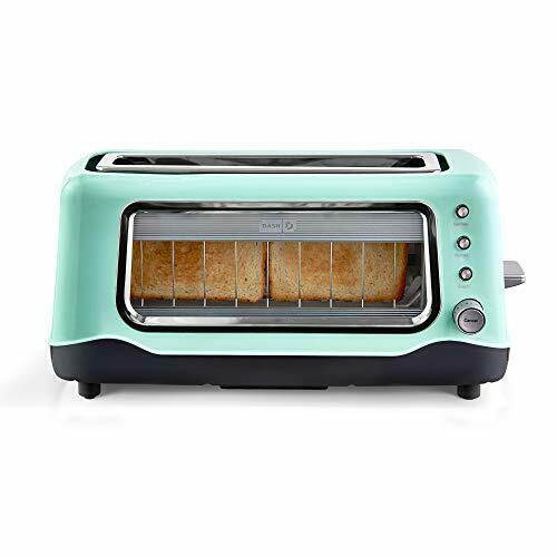 Dash DVTS501 DVTS501AQ Toaster 2 Slice Aqua Assorted Colors Style Names