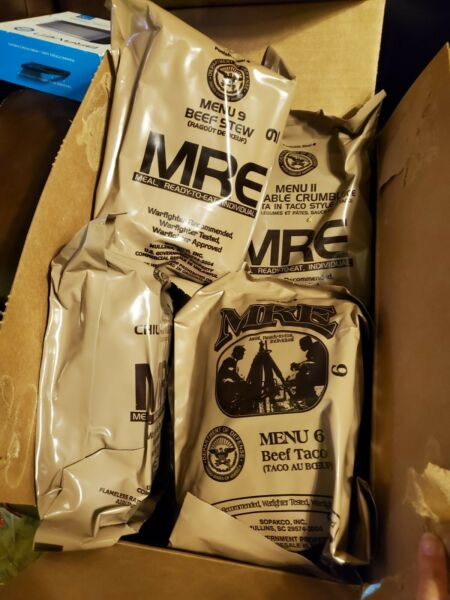 MEALS READY TO EAT US MILITARY MRE MENU YOU PICK THE MEAL BUY MORE SAVE MORE $16.75