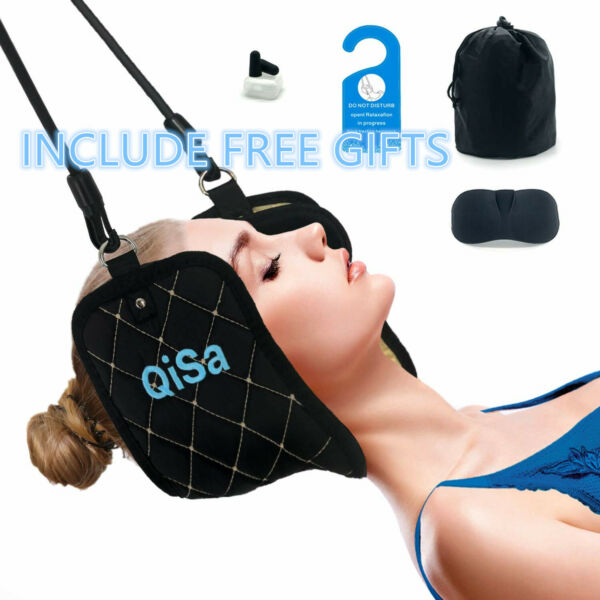 Head Hammock for Neck Headaches Back Pain Relief Cervical Traction Stretcher $10.99