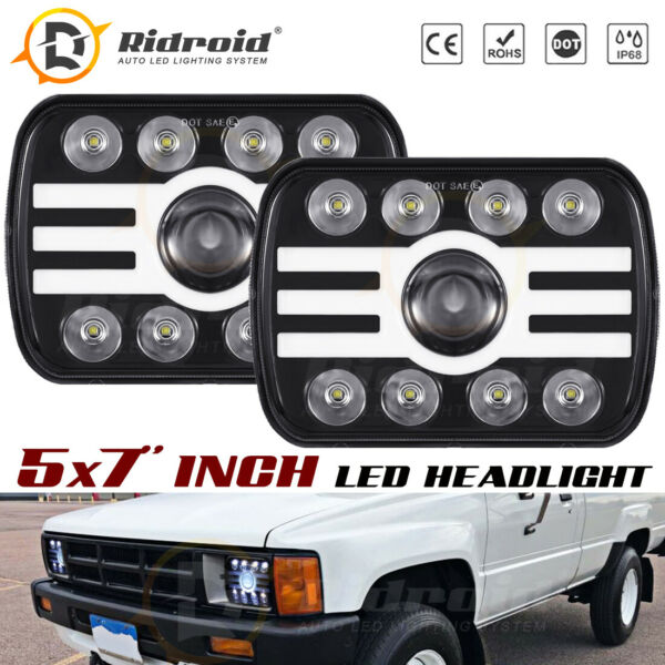 Pair LED Headlight 240W Sealed Beam For Chevy Express Cargo Van 1500 2500 3500 $59.99