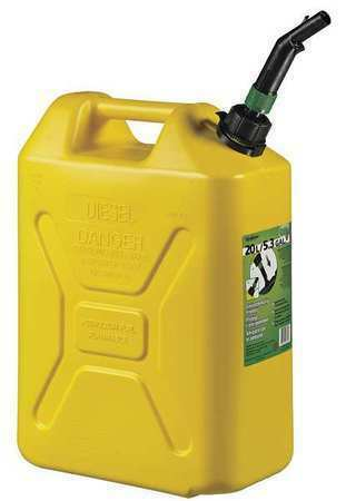 Scepter Fg4rvd5 5 Gal Yellow Plastic Diesel Fuel Can $26.90