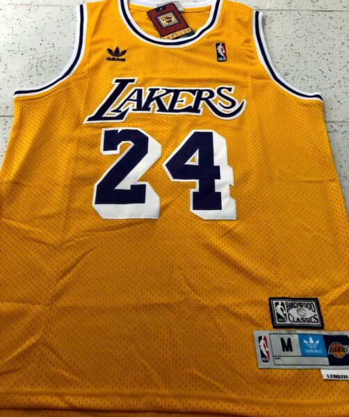 Kobe Bryant #24 Vintage Los Angeles Lakers basketball jersey men#x27;s new