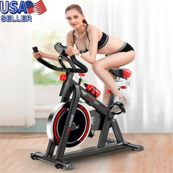 Cycling Bike Exercise Stationary Bike W phone Mount Cardio Workout Home Indoor $179.75
