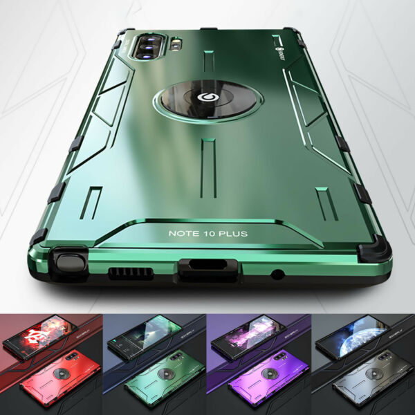 For Samsung Galaxy Note 20 Ultra Note 10 Plus 9 S10 Case Shockproof Metal Cover