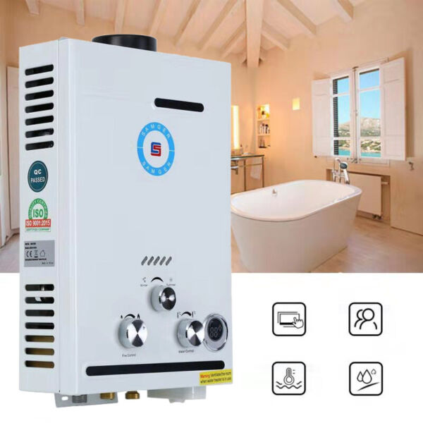 8L min 2GPM LPG Propane Gas Water Heater Tankless Home Instant Hot Boiler $77.49