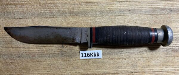 Vintage RARE Case Fixed Blade Knife.