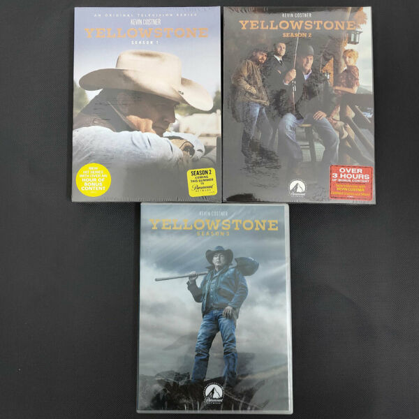 Yellowstone Season 1 amp; 2 amp; 3 1 3 Brand new US Seller Fast Ship First Class Mail $31.66
