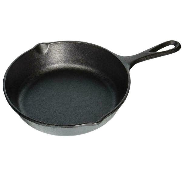 Lodge Cast Iron Skillet Pre Seasoned Fry Pan 8 inch NEW