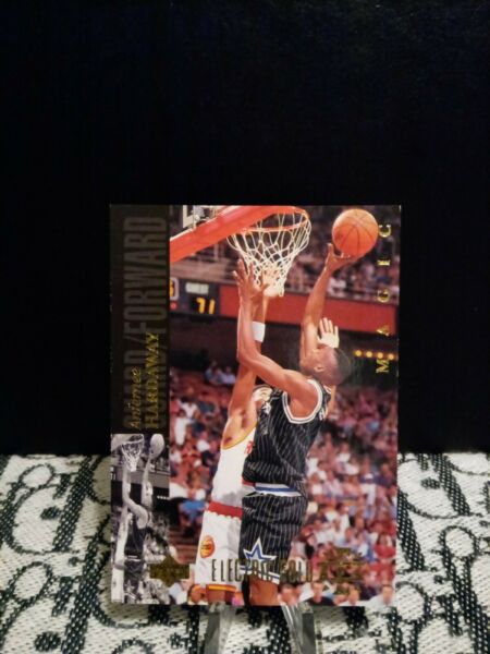 1993 94 ANFERNEE HARDAWAY Electric Gold Court Rookie #51 MAGIC super rare $84.99