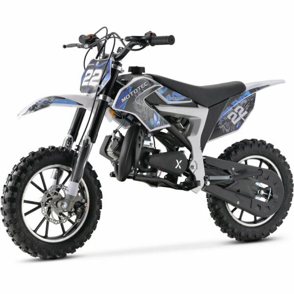 MotoTec 50cc 2 Stroke Demon Kids Gas Dirt Bike Age 13 CE amp; EPA Approved 5 color $399.99