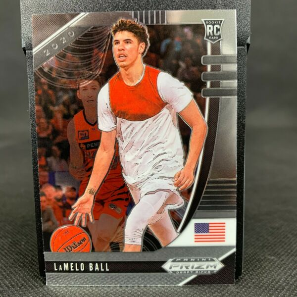 2020 Panini Prizm Draft Picks LaMelo Ball Rookie Card No.43