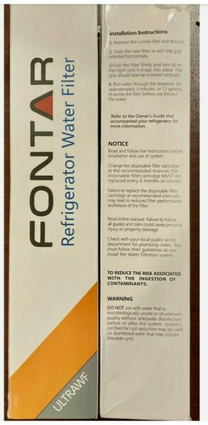 Fontar GP004 Replacement Water Filter For Frigidaire ULTRAWF 2 Pack NEW $23.00