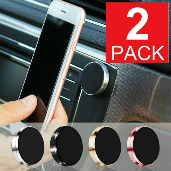 Universal Magnetic Car Mount Cell Phone Holder Stand Dashboard For iPhone $5.95