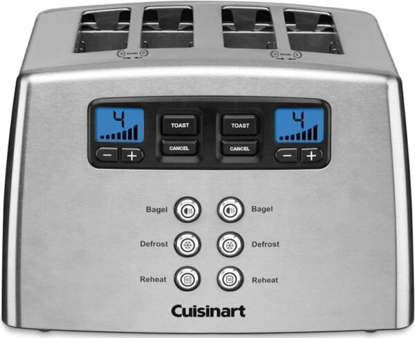 Cuisinart Touch to Toast 4 Slice Toaster Stainless Steel