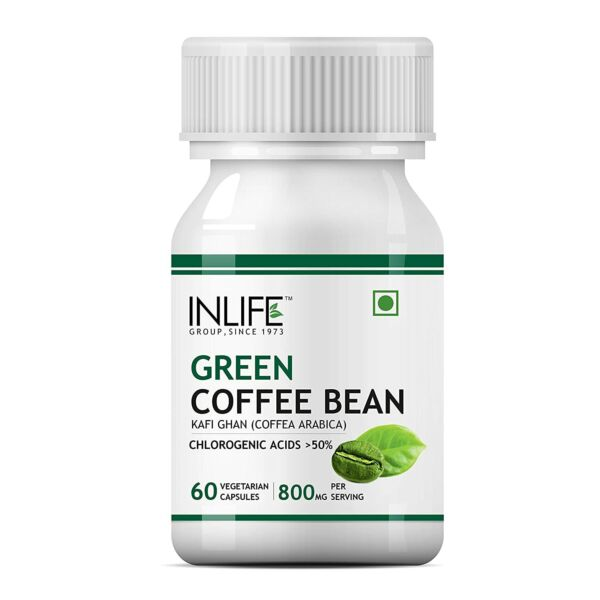 INLIFE Green Coffee Beans Extract Weight Management 60 CAPSULE