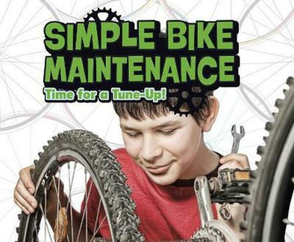 Simple Bike Maintenance by Lisa J. Amstutz Hardcover Book Free Shipping $24.64