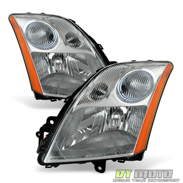 For 2007 2008 2009 Sentra 2.0L 2.5L Headlights Headlamps Replacement LeftRight